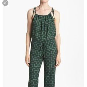 Like Mynded green paisley jumpsuit